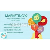 Professional Branded SMS Marketing in Lahore, Pakistan
