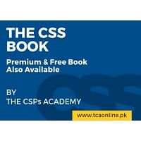 TCA Online CSS Coaching Academy In Pakistan +923133319144