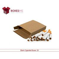 Blank Cigarette Boxes