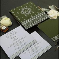 Islamic Wedding Invitation Cards