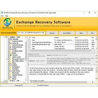 Exchange mailbox EDB to PST converter software