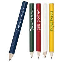 Shop Wholesale Custom Sports Golf Round Pencils