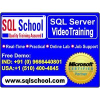 Excellent Project Oriented Video Training On SQL @ SQL School