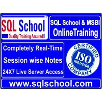 MSBI Online Training @ SQL School