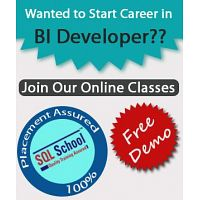 Real Time Online Training On MSBI @ SQL School