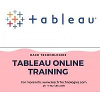 Best Tableau Online Training in California