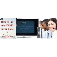 How to easily fix Xfinity error rdk-03087?