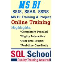 REALTIME TRAINING ON MSBI 2017 Online @ SQL School