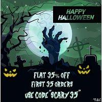 The Spooky halloween sale