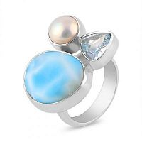 Wholesale manufacturer of larimar jewelry