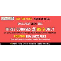 Month End Sale: Learn 3 or more SAP / Oracle Fusion Video Courses @ 99 $ only