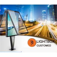 Transparent LED Glass