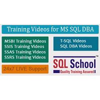 Microsoft SQL DBA  Best Project Oriented Video Training @ SQL School