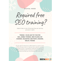 Required free SEO training?