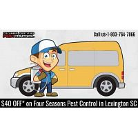$40 OFF* on Four Seasons Pest Control services in Lexington SC