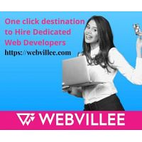 One click destination to hire dedicated web developers : Webvillee