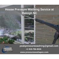 House Pressure Washing Service at Raleigh NC
