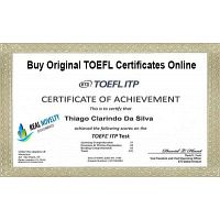 Buy Original TOEFL Certificates Online