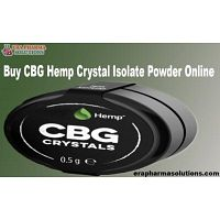 Buy CBG Hemp Crystal Isolate Powder Online