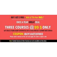 BUY 1 GET 2 FREE - Learn SAP   Oracle Fusion Video Courses