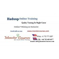 Hadoop Online Training Classes by Monstercourses