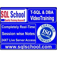 SQL DBA  Practical Video Training @ SQL School