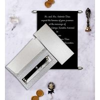 Scroll Wedding Invitation Cards