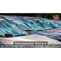 Dent Dominator Source of Car Hail Damage Repair in Cary, Raleigh, Apex, Durham NC