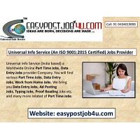 Best ONLINE jobs vacancy for 10+ to Graduation Pass Candidates, Monthly salary Rs.35,000/-