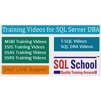 Microsoft SQL DBA  Best Project Oriented Video Training