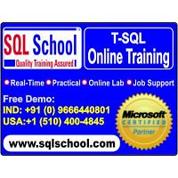 Best Online Training On SQL Server @ SQL School