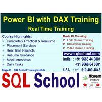 Power BI  Practical Online Training @ SQL School