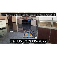 24/7 Business or Commercial Restoration Services in Raleigh NC