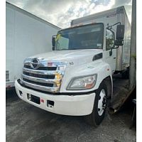 2013 HINO 268 24FT DRY BOX STOCK 1607 NON CDL