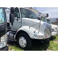 2006 INTERNATIONAL 8600 DAY CAB SINGLE AXLE STOCK 1566