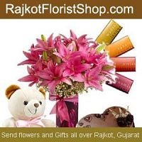 Send Rakhi Gifts to Rajkot Online- Cheap Price, Free Same Day Delivery