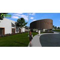 Grandes ideas para el diseño moderno de interiores y exteriores de oficinas por un estudio de diseño