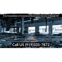 Free Consultation of Commercial Restoration Services in Raleigh NC
