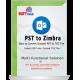 PST to Zimbra Converter