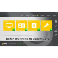 How to Fix Norton 360 renewal for windows 10 PC ?
