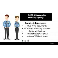 PSARA License for Indian security providing agencies