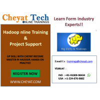 hadoop online training/job support/interview support by cheyat tech