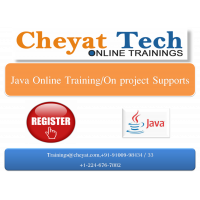 java online training/job support/interview support by cheyat tech