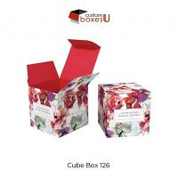 Custom Cube Boxes Wholesale for Packaging Make Your Own