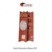 Custom Hair Extension packaging at wholesale in Texas,USA