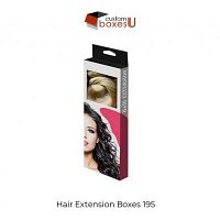 Standard design of Custom Hair Extension Packaging in USA