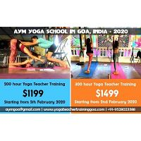 Hatha/Vinyasa Yoga Teacher Training course in Goa