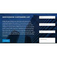 ServiceNow clients list