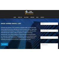 Sage Users Email List