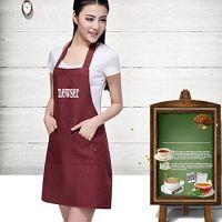 Get China Custom Aprons for Marketing Brand Name